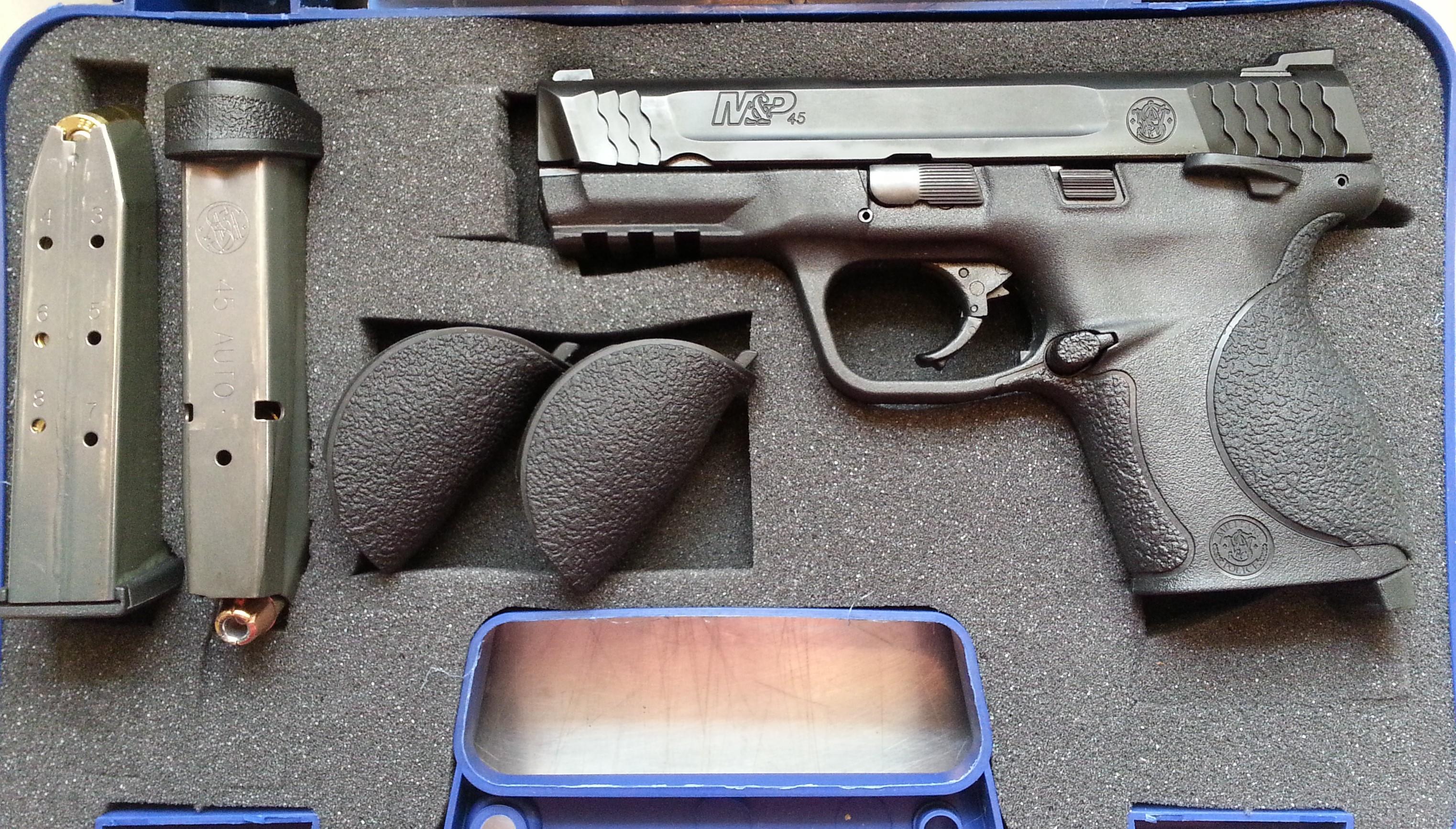 T&E: Smith & Wesson M&P 45C   The Elder Statesman