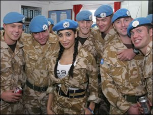 Not all UN troops are scary.  wocka wocka