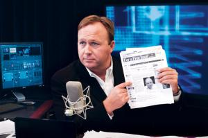 Conspiracy theorist extraordinaire, Alex Jones.