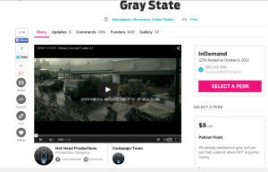 Indiegogo screenshot