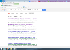screen capture, search results